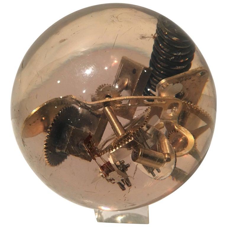 Funky Acrylic Sphere Sculpture
