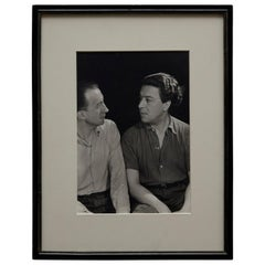 Man Ray Photography of Paul Eluard and André Breton
