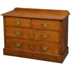 Edwardian Pollard Oak Chest of Drawers