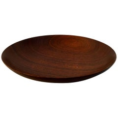 New Hope Crafts Movement Turned Wood Bowl by John Cherry