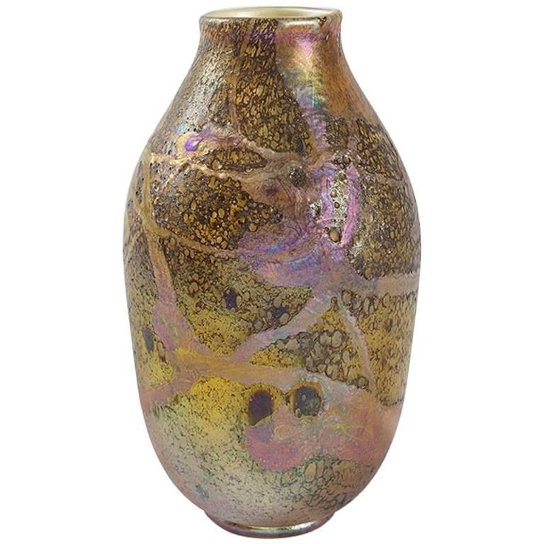 Tiffany Studios New York Glass Gooseneck Sprinkler Vase For Sale