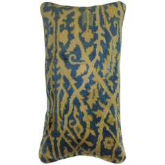 Indian Part Silk Rug Pillow