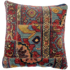 Persian Bidjar Patchwork Pillow