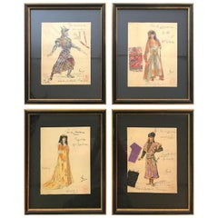 "Opera and Theatre Costume Designs by Charles Betout Commissioned ""For the Crown"""