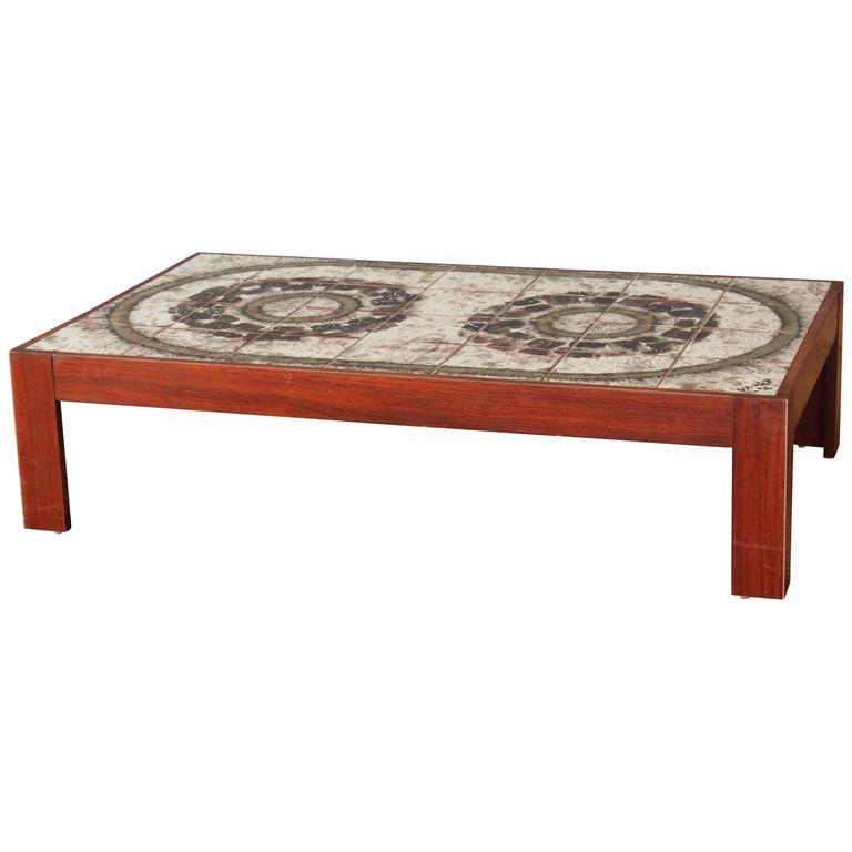 Danish Modern Coffee Table For Sale