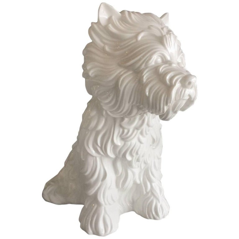 """Puppy"" Vase by Jeff Koons, 1998"