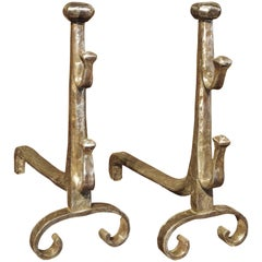 Pair of 17th Century French Andirons