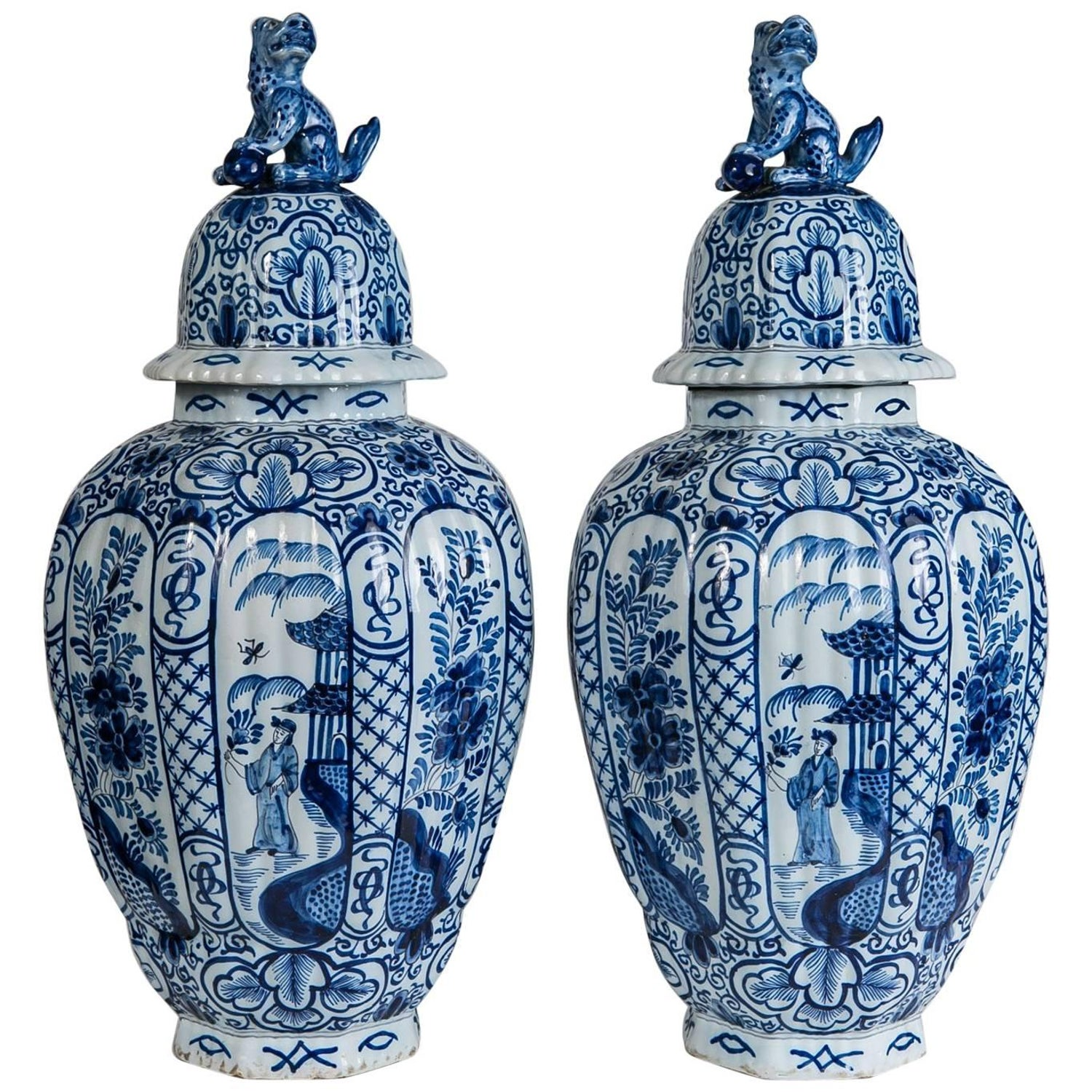 Delft blue and white ginger jars for sale at 1stdibs reviewsmspy