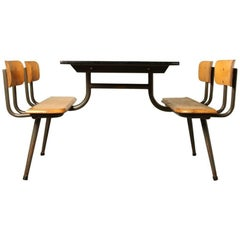 Canteen Table, Picknick Table, School Bench