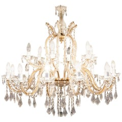 20th Century Large Antique Chandelier