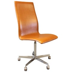 Oxford Classic Chair, Model 3193C, by Arne Jacobsen and Fritz Hansen