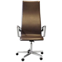 Oxford Classic Office Chair, Model 3292C, by Arne Jacobsen and Fritz Hansen