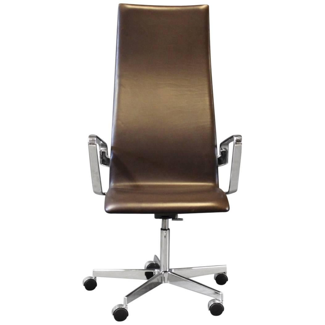 Genial Oxford Classic Office Chair, Model 3292C, By Arne Jacobsen And Fritz Hansen  For Sale
