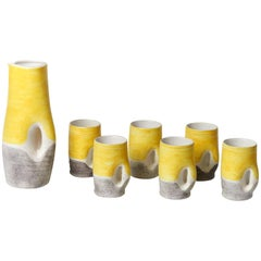 Ceramic Set by Mado Jolain, 1950s