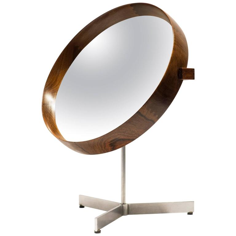 Uno and Osten Kristiansson Table Mirror for Luxus For Sale