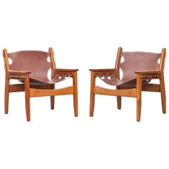 Sergio Rodrigues Lounge Chairs
