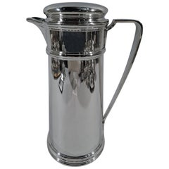 Tiffany Art Deco Sterling Silver Cocktail Shaker