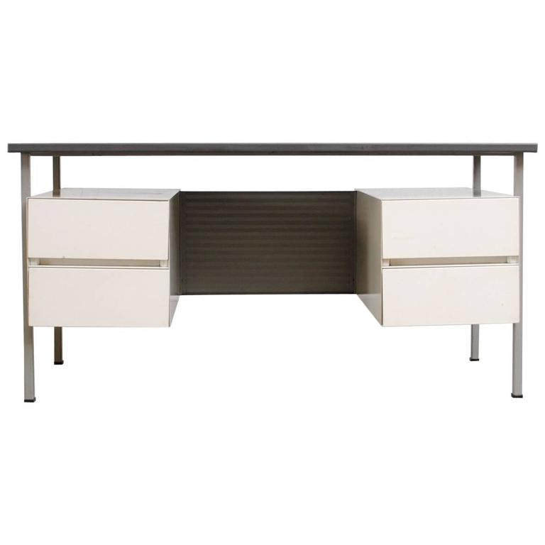 Gispen Industrial Desk by a.R. Cordemeyer For Sale