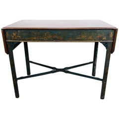 English Painted Chinoiserie Chippendale Style Table