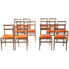 Leggera Chairs by Gio Ponti for Cassina