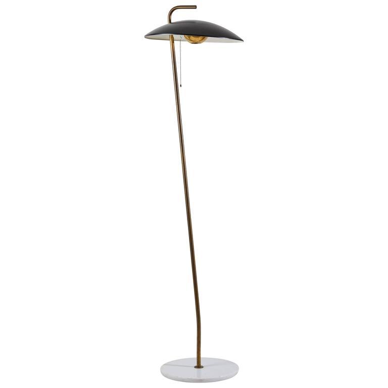 Rare Floor Lamp by Stilnovo For Sale