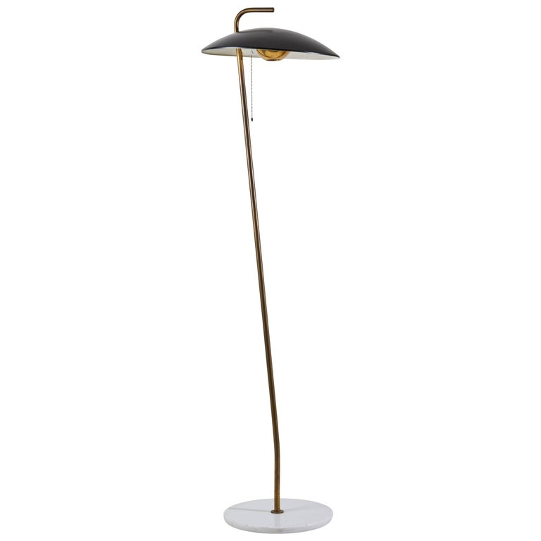 Rare Floor Lamp by Stilnovo
