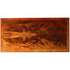 Fine Flame Mahogany Card Table