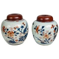 Antique Imari Chinese Ginger Jars