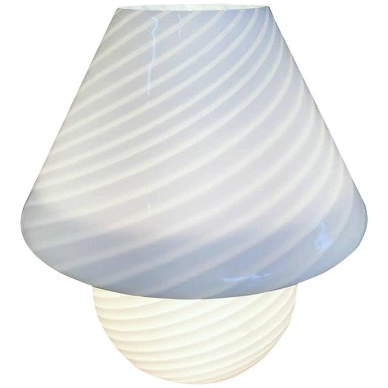 Vetri Murano Mushroom Lamp, 1970s