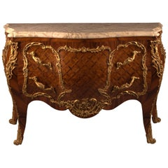 Castle Quality French Commode in Louis XV Style