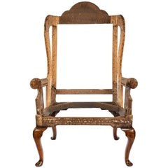 George I Albigensian Wing Armchair