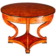 Classical, Noble Table in South German Biedermeier Style