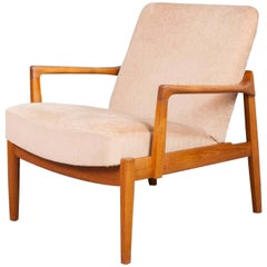 1960s Danish Tove & Edvard Kindt-Larsen for France & Sons Teak Armchair