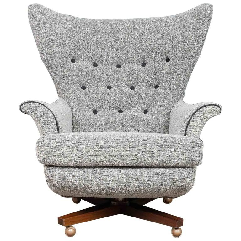 1960s G Plan Most Comfortable Chair In The World 6250 Swivel