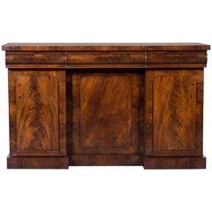 Antique English Mahogany Buffet Sideboard, circa 1860