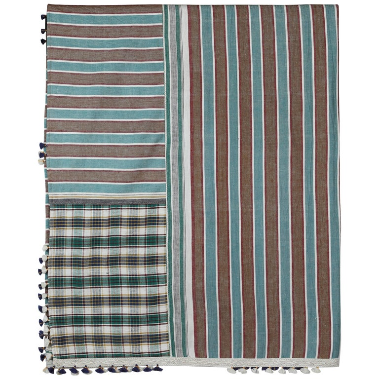 "Injiri ""Real India"" Organic Cotton Bedcover/Throw"