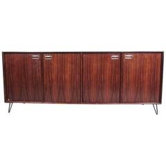 Scandinavian Modern Rosewood Sideboard