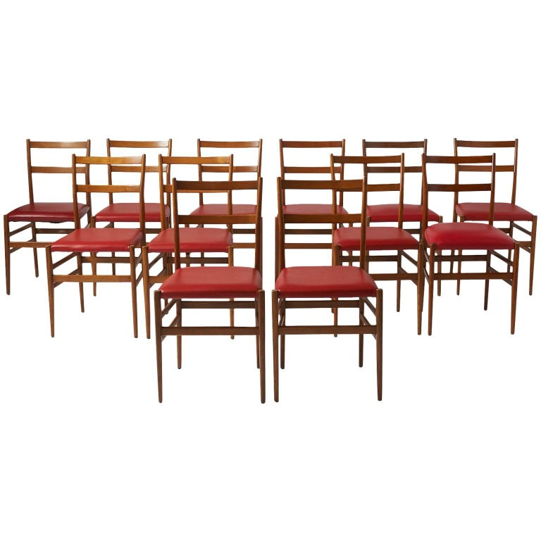 Leggera Chairs by Gio Ponti for Cassina For Sale