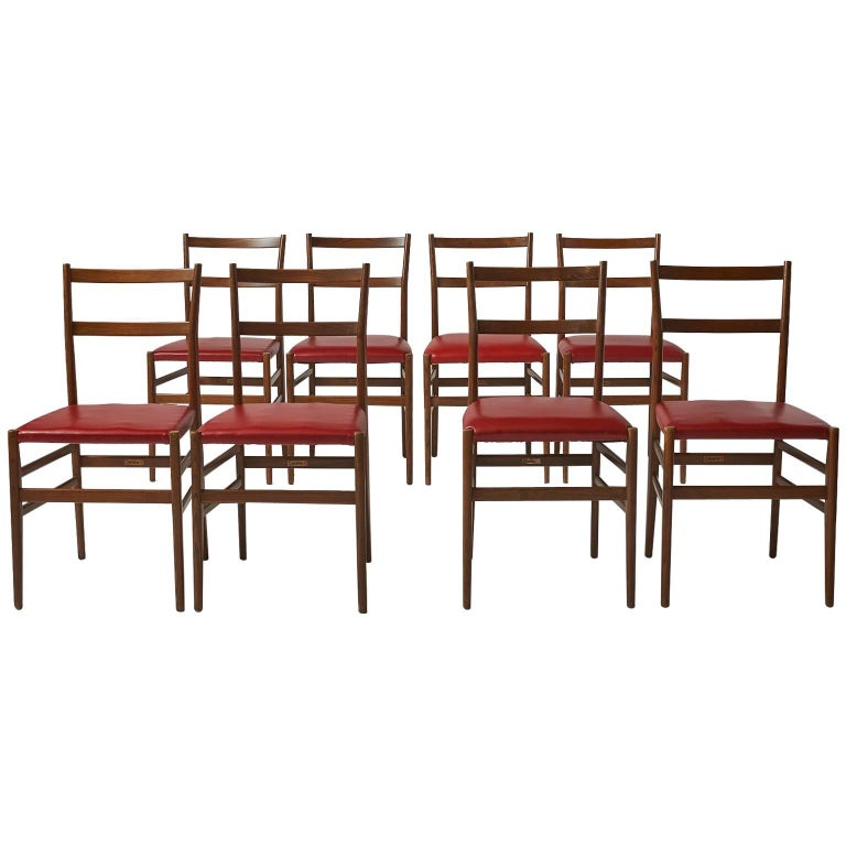 Leggera Chairs by Gio Ponti for Cassina