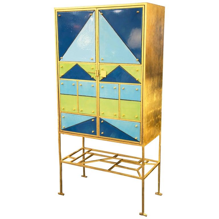 """Arlequin"" Cabinet by Elizabeth Garouste, France, circa 2002"