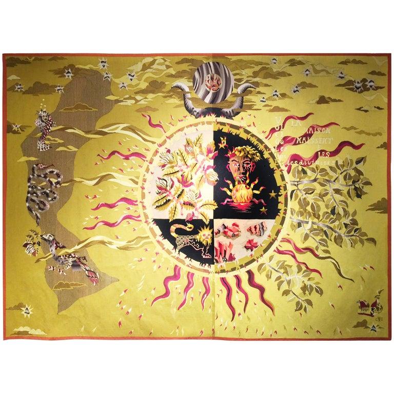 Jean Lurçat, Aubusson Tapestry, Apollinaire