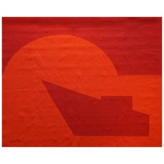 Emile Gilioli, Hand Signed Aubusson Tapestry