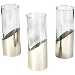 Set of Three Vases by Gabriella Crespi, 1970s