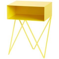 Robot Side Table in Powder Coated Steel