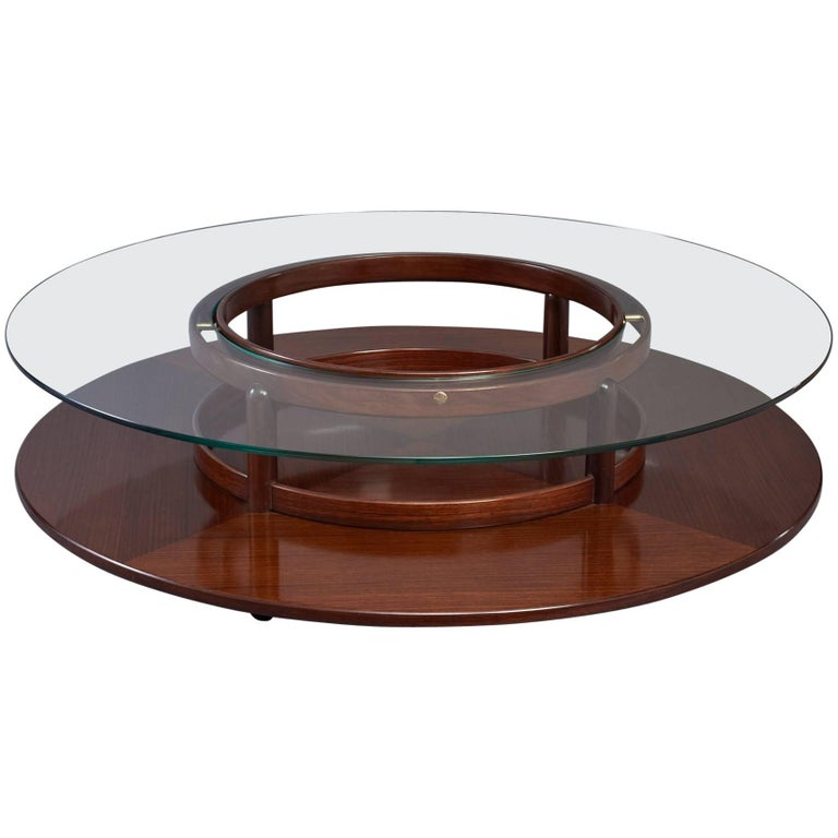 Spectacular Coffee Table by Gianfranco Frattini, Italy, 1960s