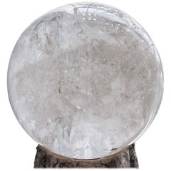 Monumental Quartz Crystal Sphere