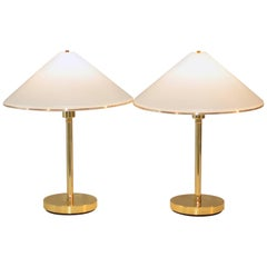 Pair of Koch and Lowy Brass Desk or Reading Lamps