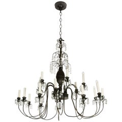 Hollywood Regency Style Chandelier