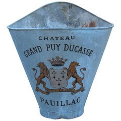 19th Century French Zinc Grape Hods