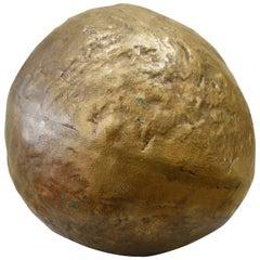 Ado Chale Bronze Sphere Sculpture, circa 1980s